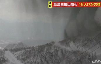 Un muerto en una estación de esquí de Japón por la erupción de un volcán