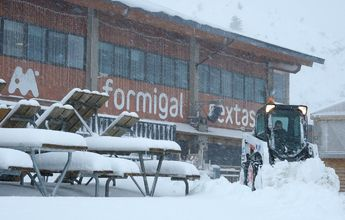 Aramón incrementa mucho sus kms esquiables gracias al nevadón