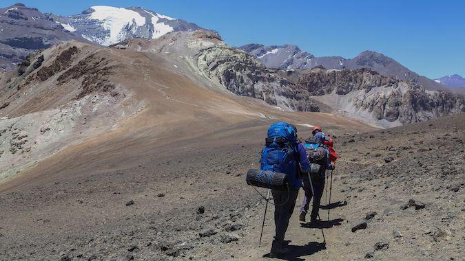 El Increíble Cerro Pintor a través de La Parva