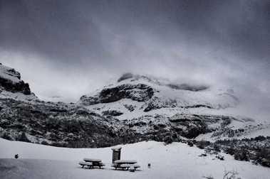 La Muela inaugura la temporada de esquí gracias a las nevadas recibidas