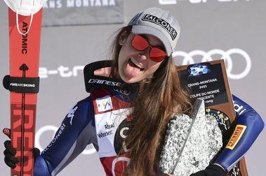 Sofia Goggia también gana el segundo Descenso de Crans Montana