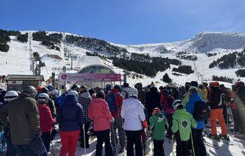 El Gobierno de Andorra investigará la afluencia masiva a sus estaciones de esquí