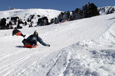 Francia no tiene accidentes de esquiadores pero si de trineos