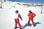 Más de 25 alumnos con discapacidad se ejercitan en Sierra Nevada