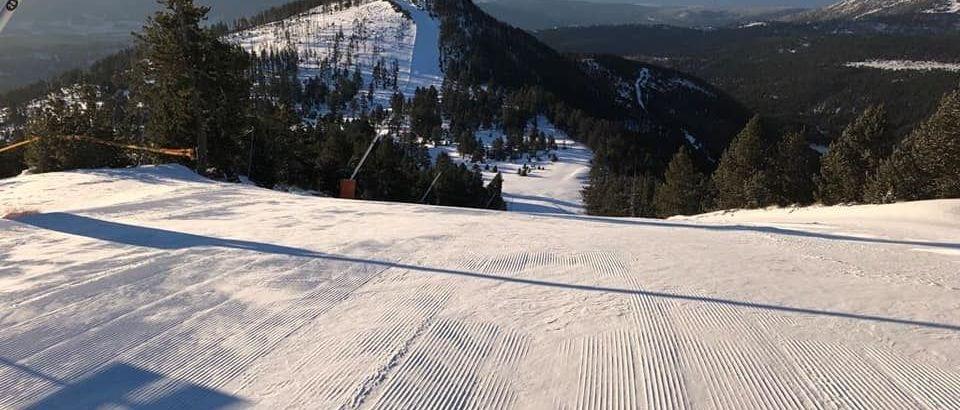 Las altas temperaturas obligan a cerrar la temporada a Formiguères