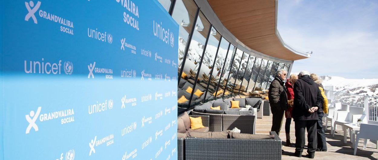 Grandvalira Social recauda 10.000 euros para Unicef Andorra