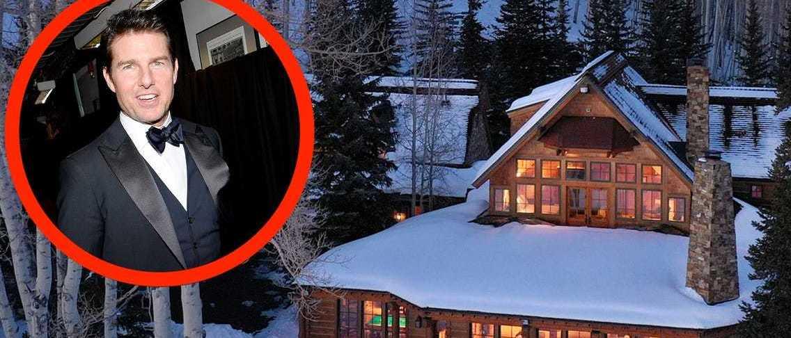 Tom Cruise vende su casa de Colorado. ¿tienes el dinero para comprarla?