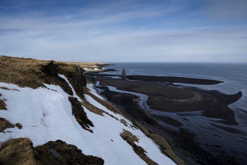 Esquiando en la Península Troll (Islandia)
