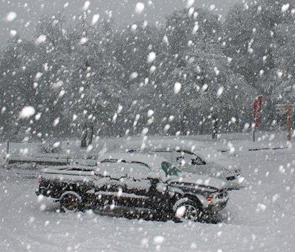 Se pronostican  casi 2 metros de nieve para la próxima semana