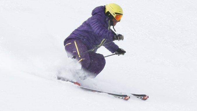 Esquiar en la niebla