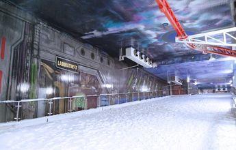 India abre un centro de esquí cubierto muy extraño