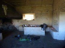 Interior Refugio Cucaracha