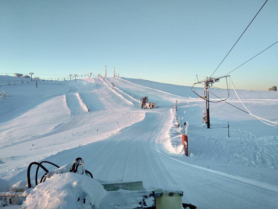 Estación de esquí de Manzaneda en Ourense (Galicia)
