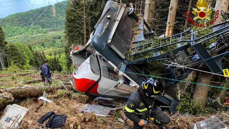 Accidente del teleférico de Mottarone