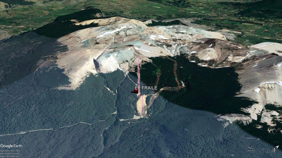 Vista Google Earth El Fraile 2018