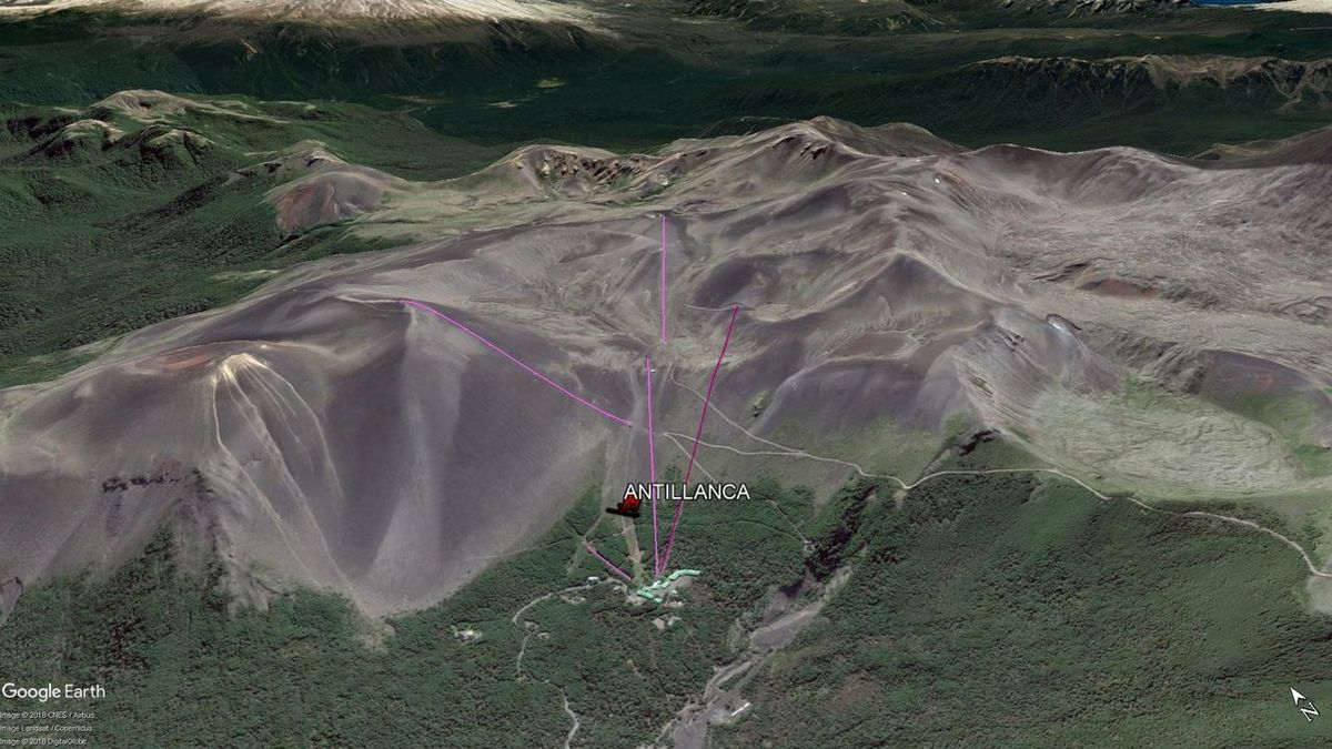 Vista Google Earth Antillanca  2018