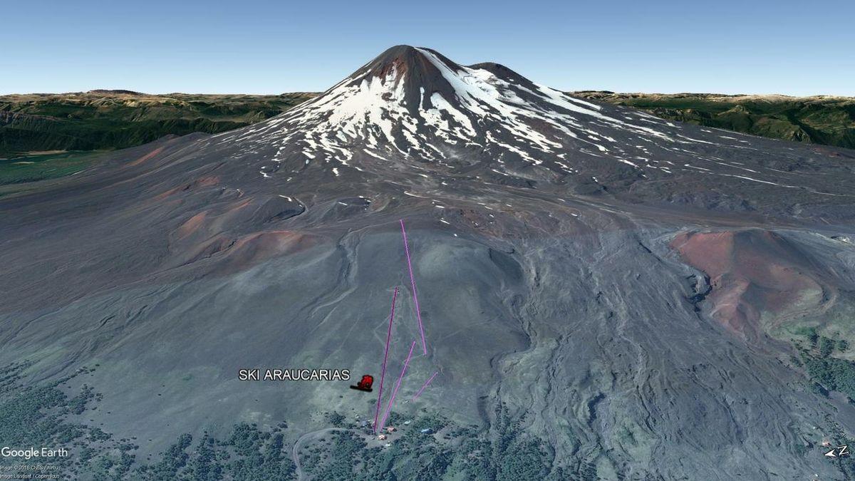 Vista Google Earth Ski Araucarias 2018