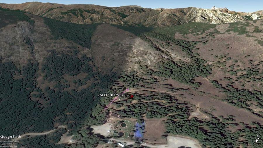 Vista Google Earth Valle Hermoso 2018