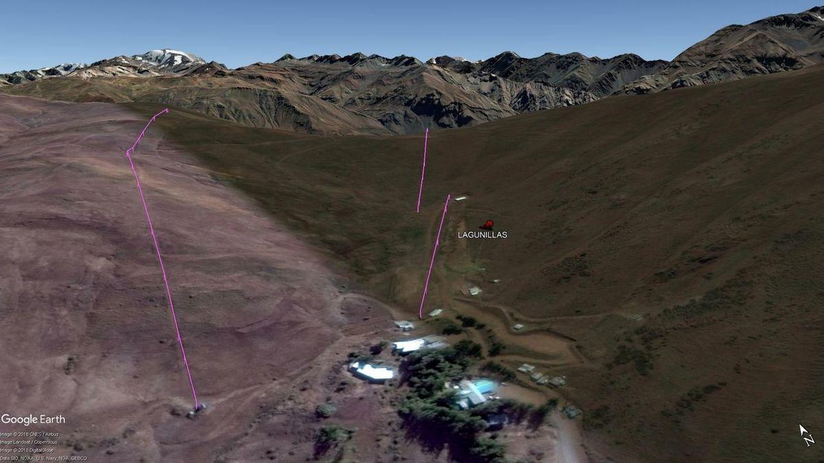 Vista Google Earth Lagunillas  2018