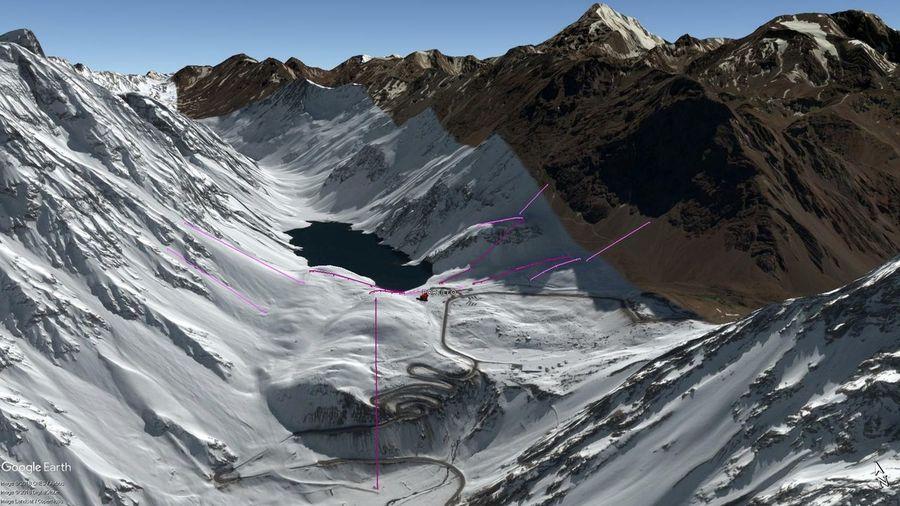 Vista Google Earth Portillo  2018