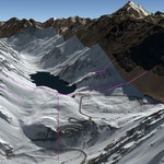 Vista Google Earth Portillo  2018