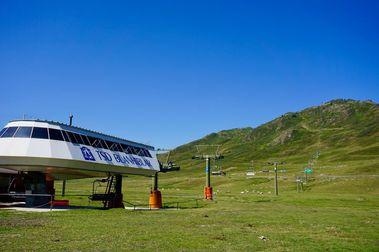 La Val d'Aran y la estación de esquí de Baqueira se abren para los turistas de verano