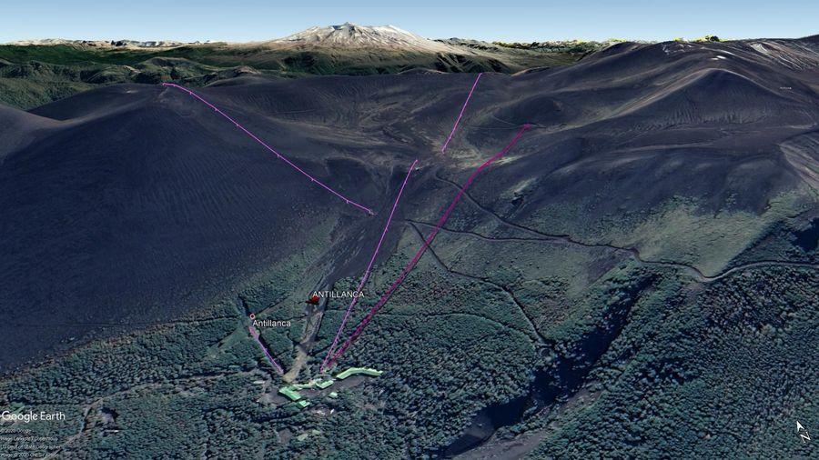 Vista Google Earth Antillanca 2020