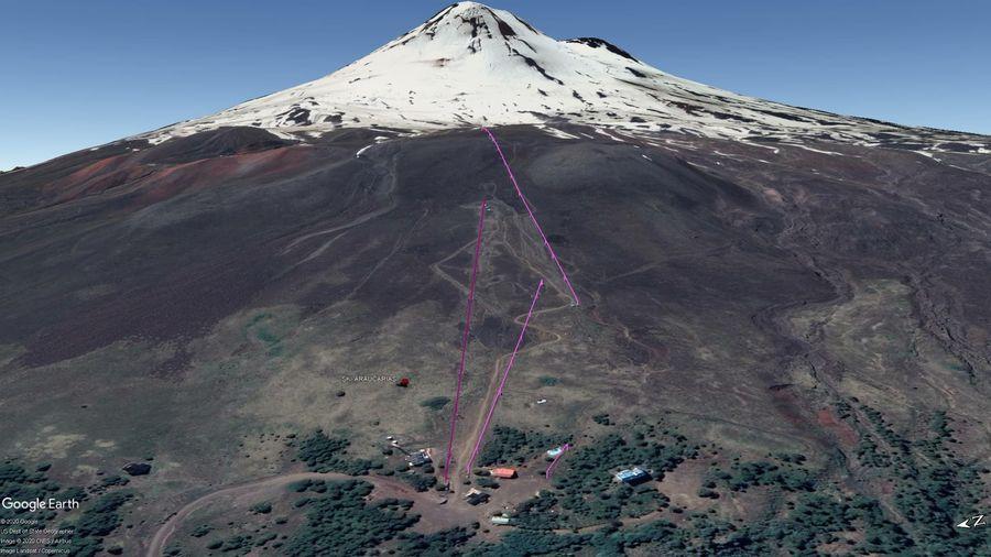 Vista Google Earth Ski Araucarias 2020