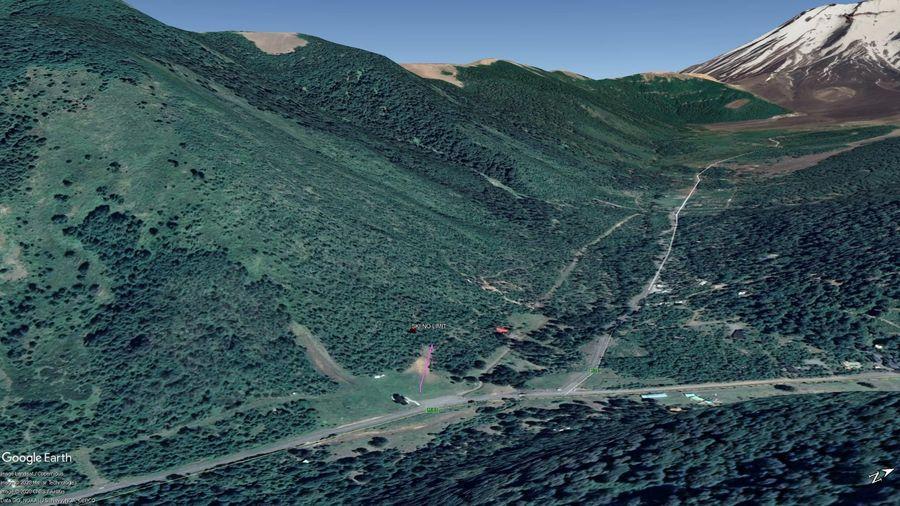 Vista Google Earth Ski No Limit 2020