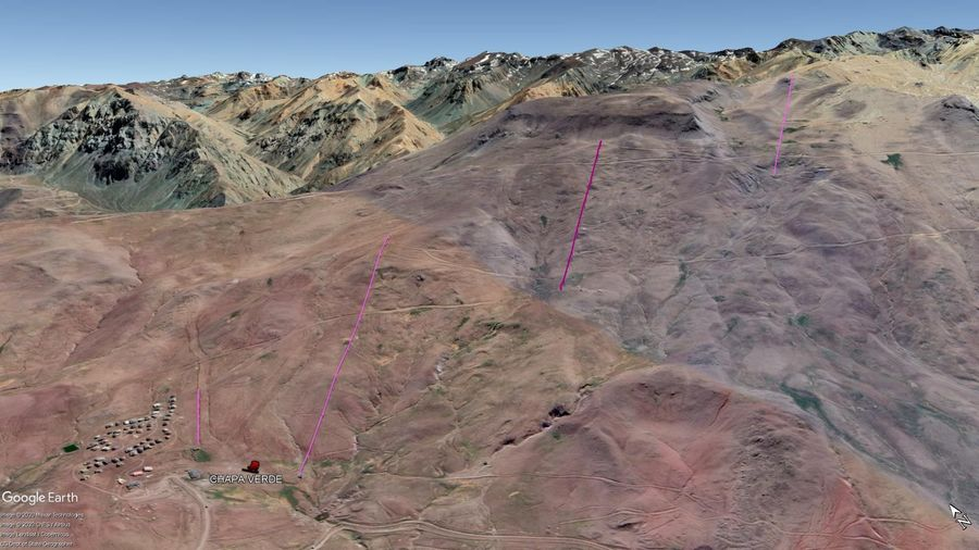 Vista Google Earth Chapa Verde 2020