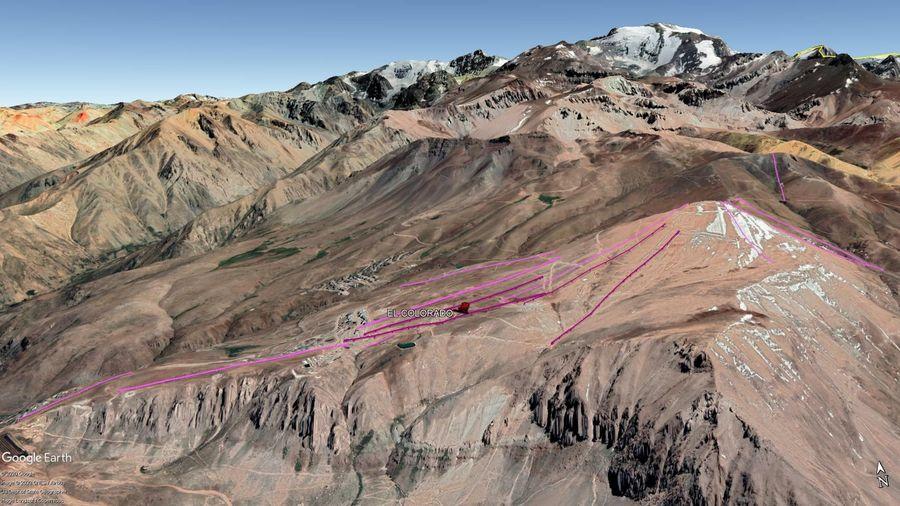 Vista Google Earth El Colorado 2020
