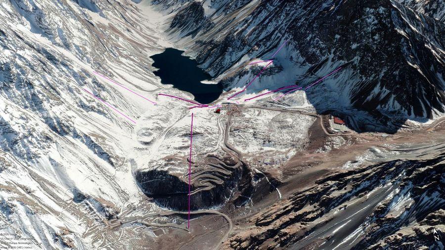 Vista Google Earth Portillo 2020