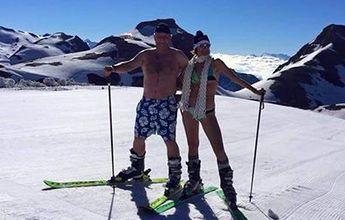 Crans Montana cierra su esquí de verano