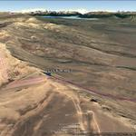 Vista Google Earth Calafate Mountain Park 2017