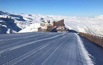 Más de 25 mil esquiadores han visitado Valle Nevado en estas vacaciones