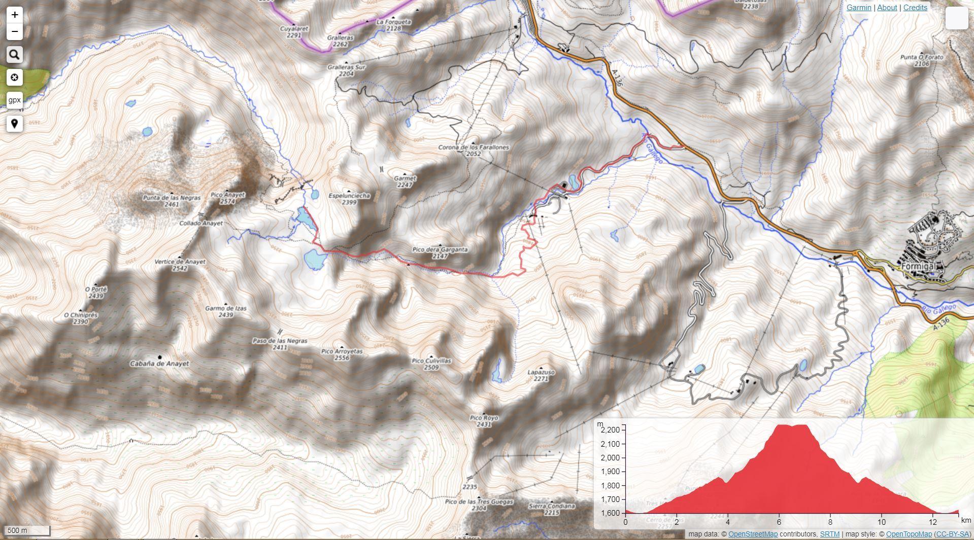 Ruta de montaña en Formigal - Ibones de Anayet