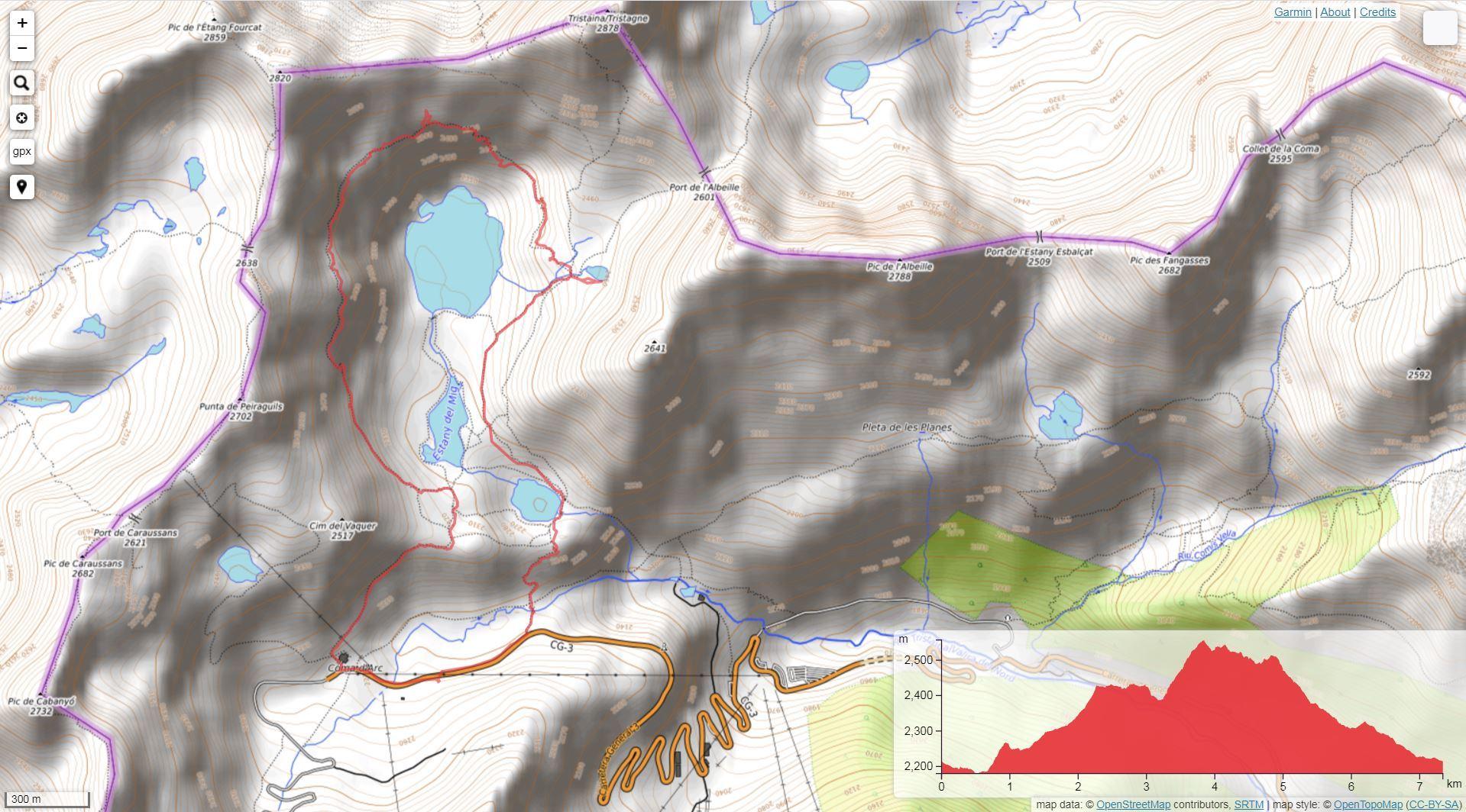 Ruta de montaña en Ordino-Arcalís - Lagos de Tristaina
