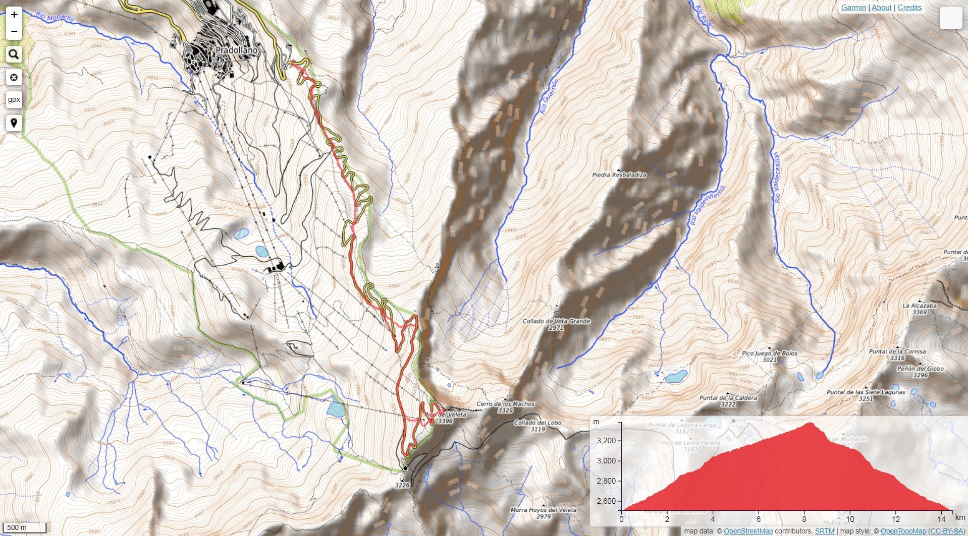 Ruta de montaña en Sierra Nevada - Ascensión al Veleta