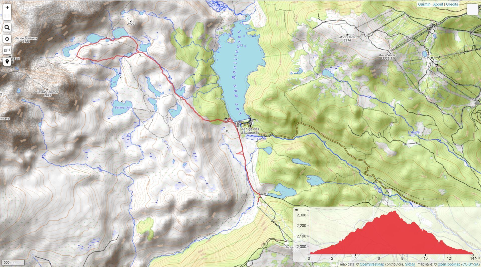 Rutas de montaña en Font-Romeu