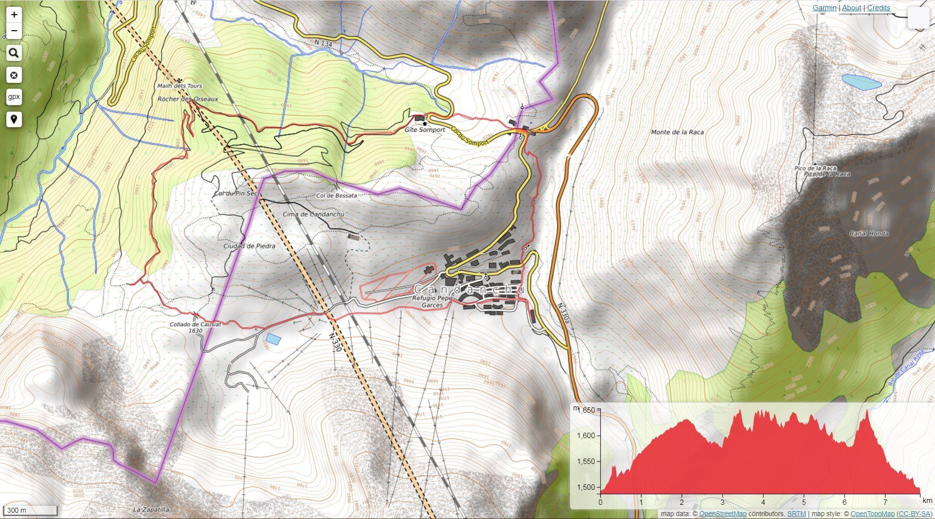 Ruta de montaña en Candanchú - Ruta circular al Somport