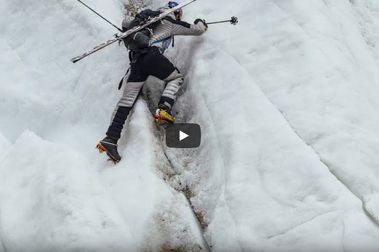 La película de la primera persona que se bajó el K2 con esquís