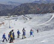Martes de ski en La Parva