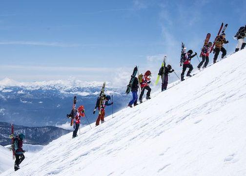 """Gran convocatoria en  """"Patagonia Avalancha en el Volcán"""""""