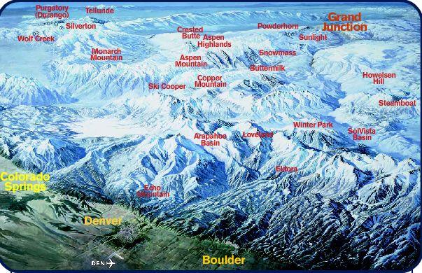 Desaparecen Cuatro Estaciones En Colorado Noticias Nevasportcom - Mapa de colorado usa