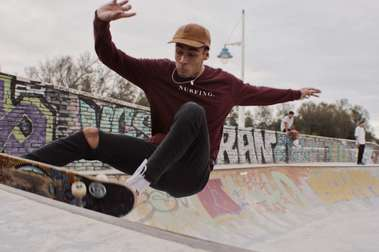 Surf skate, mi entreno lejos de las montañas.