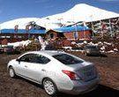 Se Presenta Nuevo Automóvil Nissan en Volcán Osorno