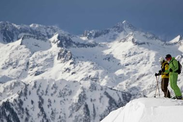 El esquí español seduce a cada vez más turistas extranjeros
