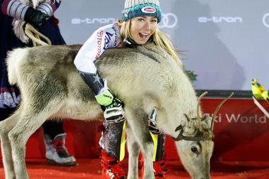 Mikaela Shiffrin gana en Levi y supera el récord de Stenmark en sláloms