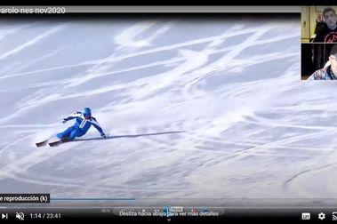 Cuatro ojos para un vídeo de esquí, SEGUNDA PARTE