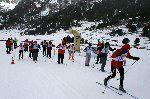 Broche final al X campeonato de España de esquí de fondo para personas con discapacidad intelectual